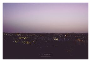 City At Night - Gran Canaria 2013 by synthes