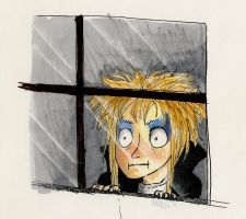 Jareth watches you shower by TrippyDharma