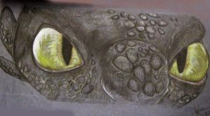 Sketch of Toothless's eyes. by DragonRider19982010