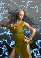 Tyra as Storm by neonaries300