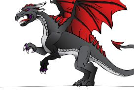 Uncomplete redone Shadow Dragon by JolteonKing217
