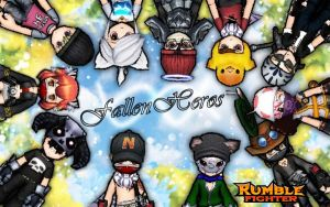 My Rumble Fighter Guild Wallpaper by JayNightDreams811