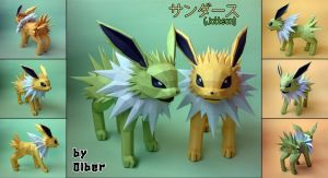 Jolteon by Olber-Correa