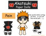 Pein Paper Doll by Malindachan
