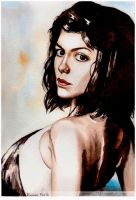 Audrey Tautou by Remma123