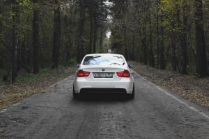 Autumn photoset of Slammed BMW E90 7 by BlackSelf91