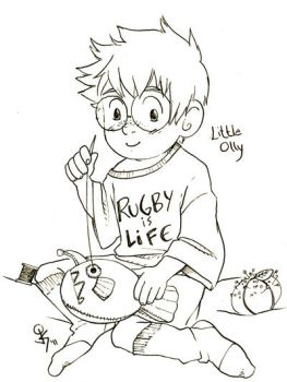 Baby Olly by ScuttlebuttInk