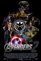 The Avengers 2 Fan-Made Movie Poster by batmanadik05