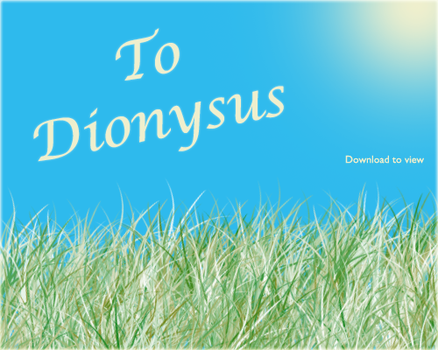 To Dionysus by vix0r