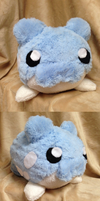 Spheal Plush by GlacideaDay