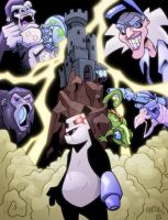 Android Panda Preview Comic by jamesabels