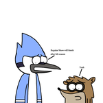 Mordecai and Rigby talks about Regular Show ending by MarcosPower1996