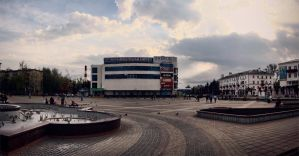 Center Of City by FoXsPhotos