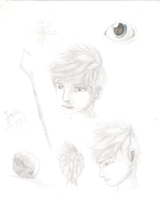 Jack Frost sketches by Vaileaa