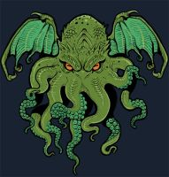 Cthulhu shirt Teefury close by missmonster