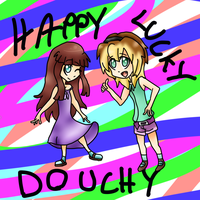 |:.HAPPY LUCKY DOUCHY.:| by J0LIA