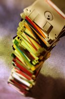 Disk Stack 3492604 by StockProject1