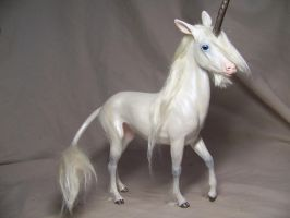 """Charmed""  ooak unicorn by AmandaKathryn"