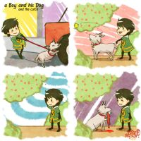 Marvel: A boy and his dog #6 by nowwheresmynut