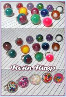 Resin Cab Rings by bapity88