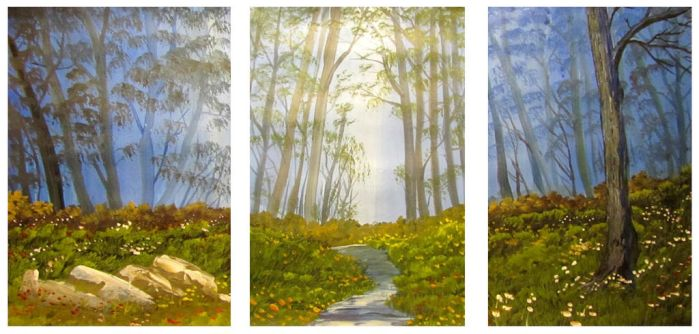 525 Forest Trilogy by mengenstrom
