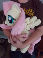 My Little Pony Huggable Fluttershy Plushie by CINNAMON-STITCH
