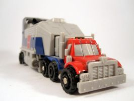 Botshot optimus prime (Truck mode) by scoobsterinc