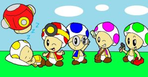 The Toad Brigade by crystalm1234