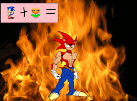 Fire Sonic by Godforoth