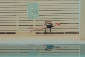 in swimming pool 3 by MaryaS