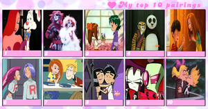 .:Top 10 Couples:. by TwistedArtsticMind