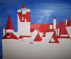 Bran Castle -Unfinished by moose6182