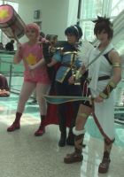 Cosplays from Kirby, Fire Emblem, and Kid Icarus by trivto
