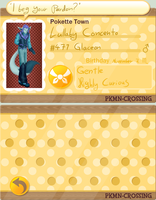 PKMC: Lullaby Concento (New app, again) by Bulbiekins