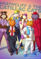 Heathcliff and the Catillac Cats BADASS by Tohad