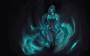 Akali - JUST PRACTICE by Salishia