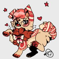 Puppy design for sale CLOSED by Skull-gum