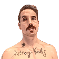 Anthony Kiedis - RHCP by Archer120