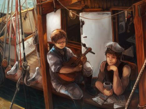 shanty song by chiclecosmos