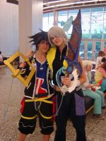 Otakuthon 08- Sora and Riku by anime-rai-chan
