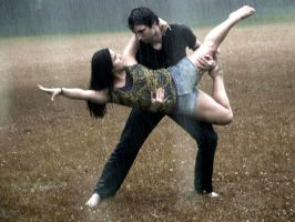 Dancing in the Rain by SWhitmirePhotography