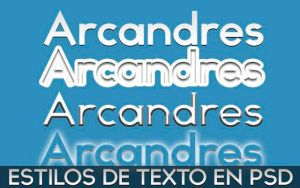 Text Styles by Arcandres