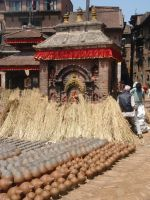 Pottery Square, Bhaktapur by Woolfred