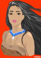 Pocahontas (Vectorized) by A-Vangtage