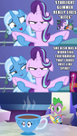 Trixie knows all of your secrets, Ms. Glimmer by Titanium-dats-me