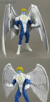 Custom Marvel Legends 2013 Archangel figure by Jin-Saotome