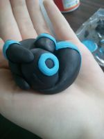 Umbreon Figureine by Bast-The-Cat-Goddess