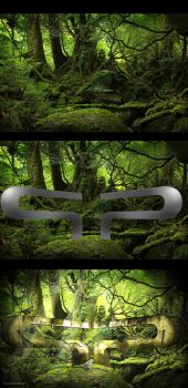 Forest + type + textur by pixelpacker
