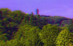 Point outlook Ziegenkopf 3D ::: HDR Anaglyph by zour