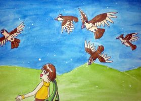 Watch the pidgeys fly by by totodos